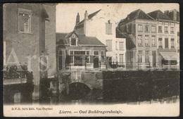 Postkaart / Postcard / 2 Scans / Lier / Lierre / Oud Buildragershuisje / Ed. Van Ouytsel / 1903 - Lier