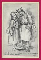 CPA Militaria - Illustrateur P. Remy - T'en Fais Pas Mon Vieux ! On Les Aura Encore ... - Guerre 1939-45