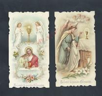 2 IMAGES PIEUSE DE GUÉRET 1911 : - Images Religieuses