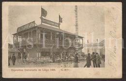 Postkaart / Postcard / 2 Scans / Liège / Exposition Universelle Et Internationale / 1905 - Luik
