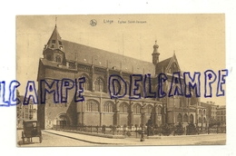 Liège. Eglise Saint-Jacques. Calèche à Cheval. 1928. Ern. Thill, Bruxelles, Série 8, N° 38 - Luik