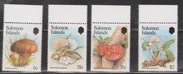 SOLOMON ISLANDS Scott # 515-18 MNH - Mushrooms - British Solomon Islands (...-1978)