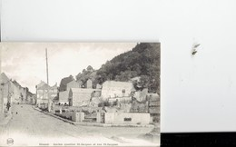 BELGIUM  - VINTAGE POSTCARDS- DINANT - ANCIEN QUARTIER ST-JACQUES ET RUE ST-JAQUES -NOT SHINING- PAS USAGEE- POST 7697 - Belgique