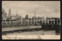Postkaart / Postcard / 2 Scans / Lier / Lierre / Zicht Op De Stad / Molpoort / Ed. L. Taymans Nezy, Lier - Lier