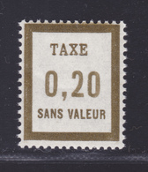 FRANCE FICTIF TAXE N° FT12 ** MNH Timbre Neuf Sans Charnière, TB - Phantomausgaben
