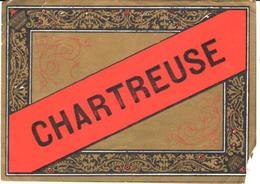 ETIQUETA     CHARTREUSE  (LICOR) - Alcoholes