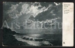 "Postkaart / Postcard / 2 Scans / Moonlight On The Bay / Raphael Tuck & Sons / ""View"" Series 952 / 1908 - Tuck, Raphael"
