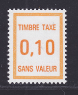 FRANCE FICTIF TAXE N° FT30 ** MNH Timbre Neuf Sans Charnière, TB - Finti