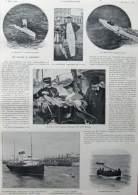 De Calais à Douvers - Page Original - Alte Seite 1904 - Documents Historiques