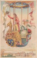 Cpa( Litho)-75-paris 1er Arr.-souvenir Belle Jardiniere-ascension En Ballon XVIIIe Siecle-2 Rue Du Pont Neuf-edi C.Gayet - Arrondissement: 01