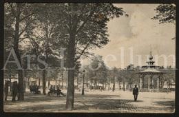 Postkaart / Postcard / 2 Scans / Antwerpen / Sint-Jansplein / Kiosk / 1903 (?) - Antwerpen