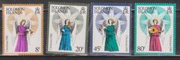 SOLOMON ISLANDS Scott # 427-30 MNH - Angels - Christmas 1980 - British Solomon Islands (...-1978)