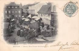 27-BRIONNE- MARCHE, PLACE FREMONT DES ESSARTS - Autres Communes