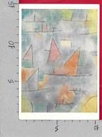 CARTOLINA VG FRANCIA - Paul KLEE - Port Et Voiliers - 10 X 15 - ANN. 1971 - Pittura & Quadri