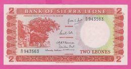 Billet - SIERRA LEONE - 2 Leones De ( 1964 ) Péfix B/12 - Pick 2a - Sierra Leona