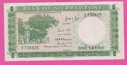 Billet - SIERRA LEONE - 1 Leone De ( 1964 ) Péfix A/2 - Pick 1 - Sierra Leona