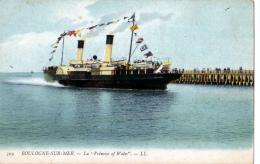 """Boulogne-sur-Mer (Pas-de-Calais)   Steamer """"Princess Of Wales"""" - Boulogne Sur Mer"""