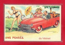 """78-CARTE POSTALE HUMOURISTIQUE """" LE VESINET """" - Le Vésinet"""