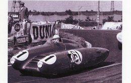 24 Heures Du Mans 1955  -  Nardi Giannini 750  -  Pilote: Dr Mario Damonte  -  15x10 PHOTO - Le Mans