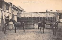 27-CORMEILLES- CHEVAUX DU HARAS - DEMI-SANG - France