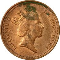 Monnaie, Grande-Bretagne, Elizabeth II, Penny, 1994, B, Copper Plated Steel - 1971-… : Monnaies Décimales