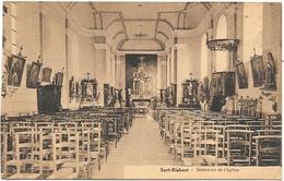 Sart-Risbart NA1: Intérieur De L'église 1938 - Incourt