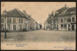 Postkaart / Postcard / 2 Scans / Wetteren / Rue Des Sables / Zandstraat / Uitg. De Graeve - Wetteren