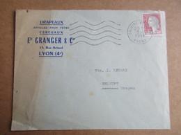 Enveloppe Avec Entête -  Ets Granger & Cie - Drapeaux... - Poststempel (Briefe)