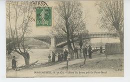 ARGENTEUIL - Bord De Seine Près Le Pont Neuf - Argenteuil