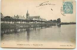 DEP 78 ANDRESY L'EGLISE VUE DE L'ILE - Andresy