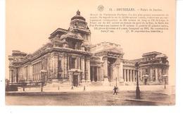 Bruxelles-+/-1910-Le Palais De Justice-Oeuvre De L'Architecte Poelaert-Cliché F.Walschaerts, Bruxelles - Marktpleinen, Pleinen
