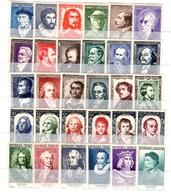 France Grands Hommes 1950, 1951, 1952, 1955 Et 1956 Neufs ** MNH. TB. A Saisir! - France