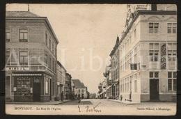 Postkaart / Postcard / 2 Scans / Montaigu / Rue De L'Eglise / Scherpenheuvel / Smets Nihoul, Montaigu - Scherpenheuvel-Zichem