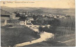 Forrières NA4: Panorama De La Vallée De La Lhomme 1921 - Nassogne