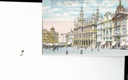 BELGIUM  - VINTAGE POSTCARDS- BRUXELLES - GRANDE PLACE MAISON DU ROI-NOT SHINING-ECRITE- POST 7684 - Marktpleinen, Pleinen