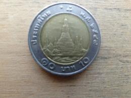 Thailande  10  Baht  2549  Y 227 - Thaïlande