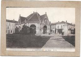 MONTENDRE - 17 - Les  Halles - DELC2/RA - - Montendre