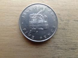 Ile De Man  5  Pence  1976 Km 35.1 - Regional Coins