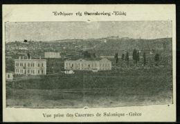 Ref 1233 - Early Postcard - Vue Prise Des Casernes Salonique Salonica Thessaloniki Greece - Greece