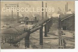 Carte Postale : Isbergues - Conduite Des Gaz Des Hauts Fourneaux - Isbergues