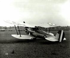 BRISTOL BULLDOG     24  * 19 CM Aviation, AIRPLAIN, AVION AIRCRAFT - Aviación