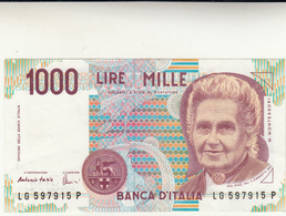 Lire Mille Banca D'Italia Dec. 03 Ottobre 1990 Fds - [ 2] 1946-… : Républic
