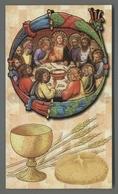 ES5155 SS. Sacramento COMUNIONE ULTIMA CENA FB 83 Santino - Religione & Esoterismo