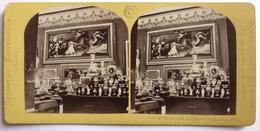EXPOSITION UNIVERSELLE De 1867 - SALON DE SÈVRES ET DES GOBELINS - Photos Stéréoscopiques