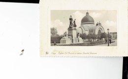 BELGIUM  - VINTAGE POSTCARDS- LIEGE - EGLISE DE ST VINCENT ET STATUE SENOBE GRAMME -NOT SHINING-PAS ECRITE- POST 7686 - België