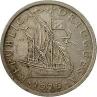 Monnaie, Portugal, 2-1/2 Escudos, 1975, TB+, Copper-nickel, KM:590 - Portugal