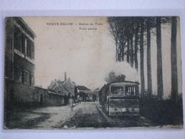 NEUVE-ÉGLISE Nieuwkerke Tram In Station - België