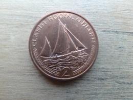 Ile De Man  2  Pence  2001  Km 1037 - Regional Coins