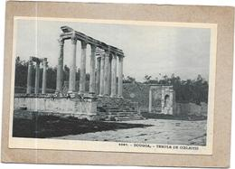 DOUGGA - TUNISIE - Temple De Coelestis - DELC2 - - Tunisia