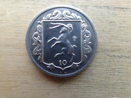 Ile De Man  10  Pence  1985  Km 146 - Regional Coins